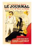 Le Journal: La Traite des Blanches, c.1899 Autocollant mural par Théophile Alexandre Steinlen