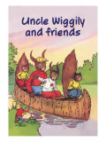 Uncle Wiggily and Friends: The Canoe Trip Wall Decal