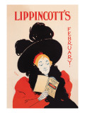 Lippincott's, February 1895 Wall Decal by Will Carqueville