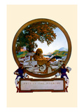 Nameplate Wall Decal by Maxfield Parrish