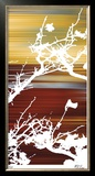 Ancient Asian Blossoms I Limited Edition Framed Print by M.J. Lew