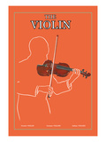 The Violin Wall Decal