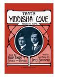 That's Yiddisha Love: Novelty Song Wall Decal by Willie Howard
