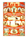 Kar-Mi and the Great Victorina Troupe Originators Wall Decal
