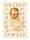 Sugar-Bee's Alphabet Wall Decal by Ida Waugh
