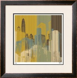 Urban Colors I Limited Edition Framed Print by M.J. Lew