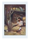 Robinson Crusoe: I Employed Myself Wall Decal by Milo Winter