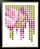 Flower Mosaic II Limited Edition Framed Print by M.J. Lew