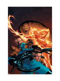 Marvel Knights 4 No.1 Cover: Mr. Fantastic, Invisible Woman, Human Torch, Thing and Fantastic Four Posters by MCNiven Steve