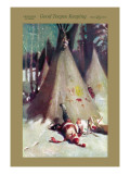 Good Teepee Keeping Wall Decal by Agnus Macdonall