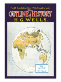 Outline of History by H.G. Wells, No. 24: The Next Stage Wall Decal