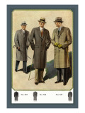 Chesterfield Fly-Front Overcoat Wall Decal