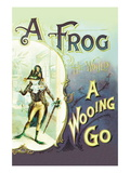 A Frog: A Wooing Go Wall Decal