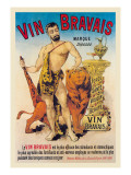 Vin Bravais Wall Decal by Eugene Oge