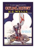 Outline of History by H.G. Wells, No. 15: Crusader, Turk and Mongol Wall Decal