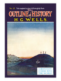Outline of History by H.G. Wells, No. 12: Christianity Comes into the World Wall Decal