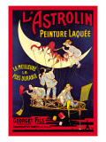 L'Astrolin Peinture Laquee Wall Decal by Eugene Oge