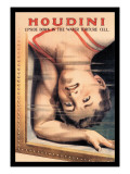 Houdini: Upside Down in the Water Torture Cell Wall Decal