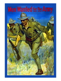 Men Wanted for the Army Wall Decal by Isaac Brewster Hazelton
