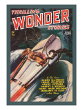 Thrilling Wonder Stories: Sheena and the X Machine Wall Decal