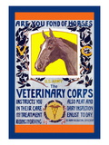 Join the Veterinary Corps Wall Decal by Horst Schreck