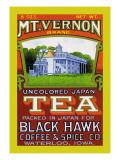 Mt. Vernon Brand Tea Wandtattoo