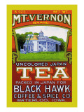 Mt. Vernon Brand Tea Wall Decal