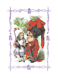 Alice in Wonderland: Alice and the Duchess Wall Decal by John Tenniel