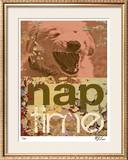 Nap Time Limited Edition Framed Print by M.J. Lew