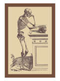 Leaning Skeleton Wall Decal by Andreas Vesalius