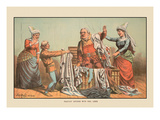 Falstaff Covered with Foul Linen Wall Decal by Tom Merry