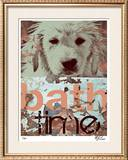 Bath Time Limited Edition Framed Print by M.J. Lew