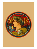 SPQR, Emblem of Italy Wall Decal by Edwin Howland Blashfield
