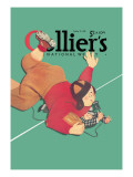 Collier's National Weekly, When the Press Get Tackled Wall Decal