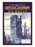 Outline of History by H.G. Wells, No. 22: The Brewing of the Great War Wall Decal