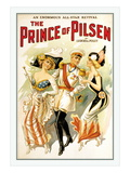 The Prince of Pilsen Wall Decal
