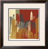 Urban Colors III Limited Edition Framed Print by M.J. Lew