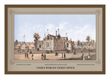 Cook's World's Ticket Office Wall Decal by Thompson Westcott