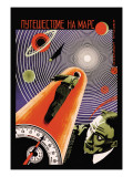 Journey to Mars Wall Decal by  Borisov