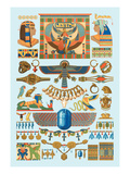 Egyptian Jewelry Wall Decal by  Racinet