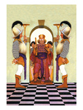 The King of Hearts Wall Decal by Maxfield Parrish