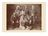 Buffalo Bill, Sitting Bull, and Others Autocollant mural