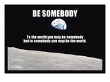 Be Somebody Wallsticker
