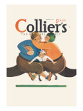 Collier's National Weekly, Referee in the Middle Wall Decal