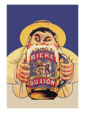 Biere du Lion Wall Decal by Eugene Oge