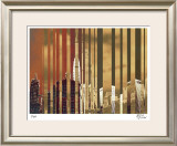 City of Gold Limited Edition Framed Print by M.J. Lew