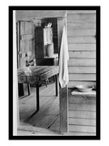 Washstand in the Dog Run and Kitchen Wall Decal by Walker Evans