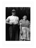 Mr. and Mrs. Andrew Lyman, Polish Tobacco Farmers Wall Decal by Jack Delano