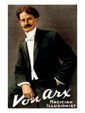 Von Arx, Magician, Illusionist Wall Decal