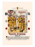 Regulars, Infantry Divisions Wall Decal by Otho Cushing